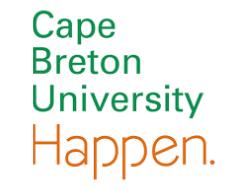 Cape Breton Partnership Investor - Cape Breton University